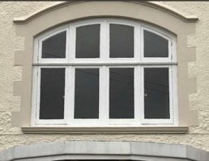 Before - Shaped Wooden Windows