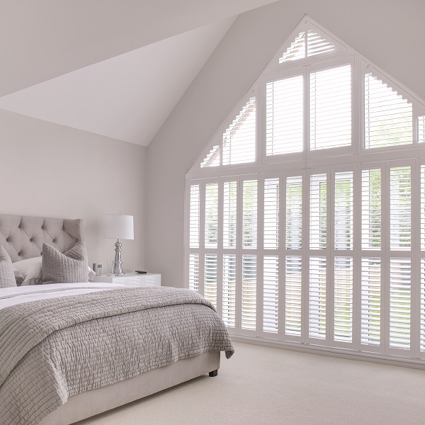 Shutters for unusual shaped windows